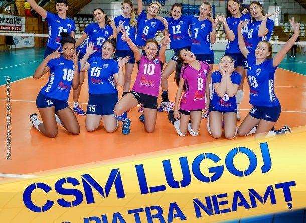 Lugoj Expres Voleibalistele de la CSM Lugoj, meci important cu Unic Piatra Neamț volei Unic Piatra Neamț CSM Lugoj