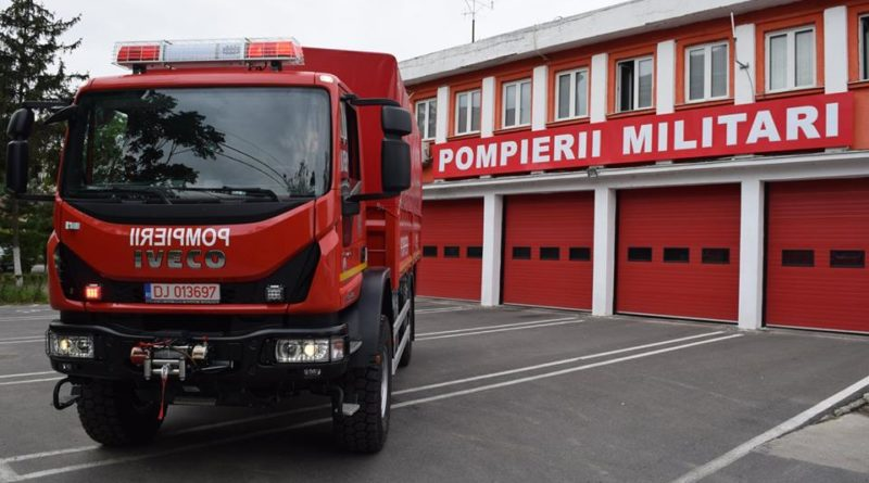 Lugoj Expres Autocamion de intervenție pe teren accidentat și motopompă de capacitate mare pentru Detașamentul de Pompieri Lugoj ISU Timiș Detașamentul de Pompieri Lugoj autocamion de intervenție pe teren accidentat