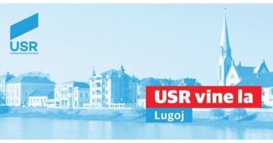 Lugoj Expres Uniunea Salvați România vine la Lugoj USR vine la Lugoj USR Timiș Uniunea Salvați România