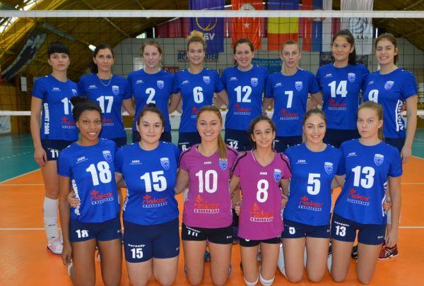 Lugoj Expres CSM Lugoj a încheiat turul cu o victorie, la Galați voleibaliste lugojence victorioase la Galați volei feminin Divizia A1 CSM Lugoj