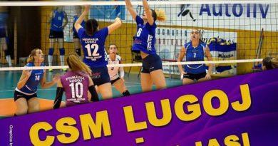 Lugoj Expres Joc cu miză, la fileu: CSM Lugoj - Penicilina Iași volei feminin Divizia A1 volei CSM Lugoj Csm Lugoj - Penicilina Iași