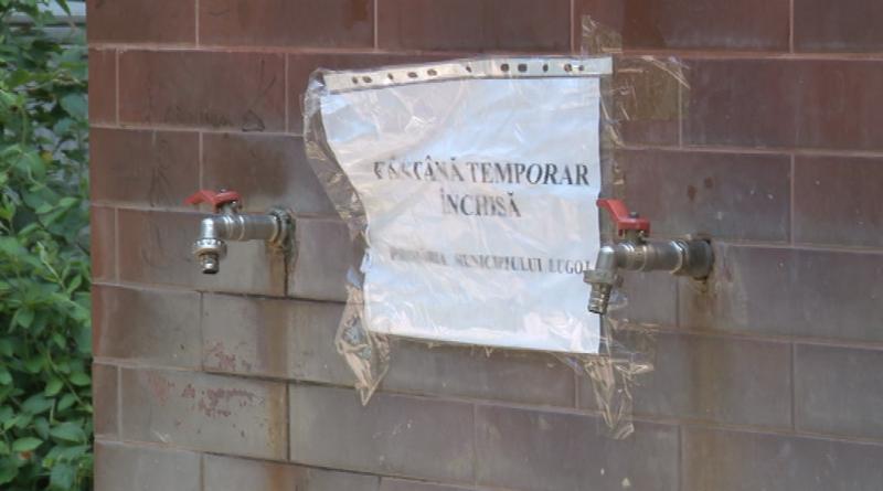Lugoj Expres Au fost închise temporar 29 de fântâni publice din Lugoj. Au apa infestată!