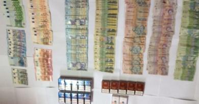 Lugoj Expres Jandarmii au confiscat o mare sumă de bani și țigări de contrabandă, în piața din Lugoj țigări de contrabandă piața din Lugoj Jandarmii au confiscat o mare sumă de bani și țigări de contrabandă jandarmi contrabandă
