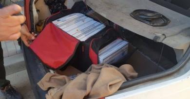 Lugoj Expres Septuagenar, prins cu țigări de contrabandă țigări de contrabandă țigări confiscate septuagenar contrabandist polițiștii Secției 6 Rurale Găvojdia