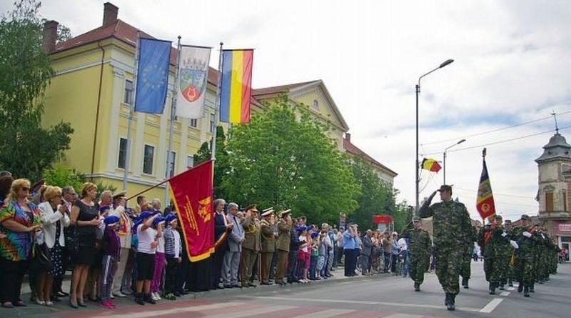 Lugoj Expres Ziua Independenţei, Victoria Coaliţiei Naţiunilor Unite în cel de-Al Doilea Război Mondial şi Ziua Europei, marcate la Lugoj Ziua Victoriei Ziua Independenței Ziua Europei triplă semnificație Garnizoana Lugoj 9 mai
