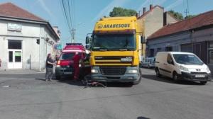 Lugoj Expres accident biciclista 3