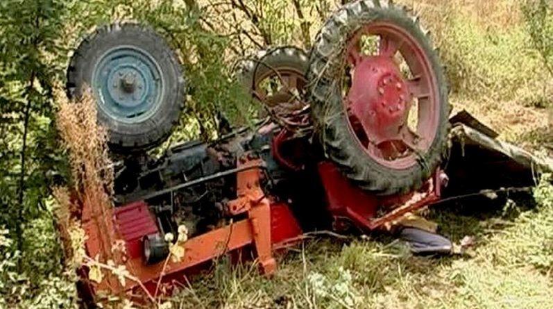 Lugoj Expres Bărbat strivit de tractor, la Jupânești tractor strivit Jupânești drum forestier accident