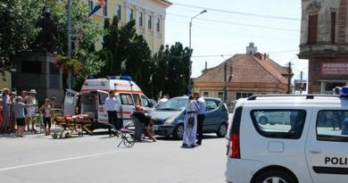 Lugoj Expres Biciclist de 87 de ani, rănit grav, la Lugoj vătămare corporală rănit grav dosar penal centrul Lugojului biciclist accident