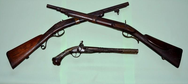 Lugoj Expres Arme de foc, la Muzeul din Lugoj muzeul din Lugoj expoziție colecție arme de foc arme