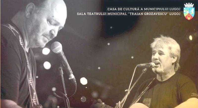 Lugoj Expres Victor Socaciu și Cristian Buică, în concert, la Lugoj Victor Socaciu Om Bun folk Cristian Buică concert