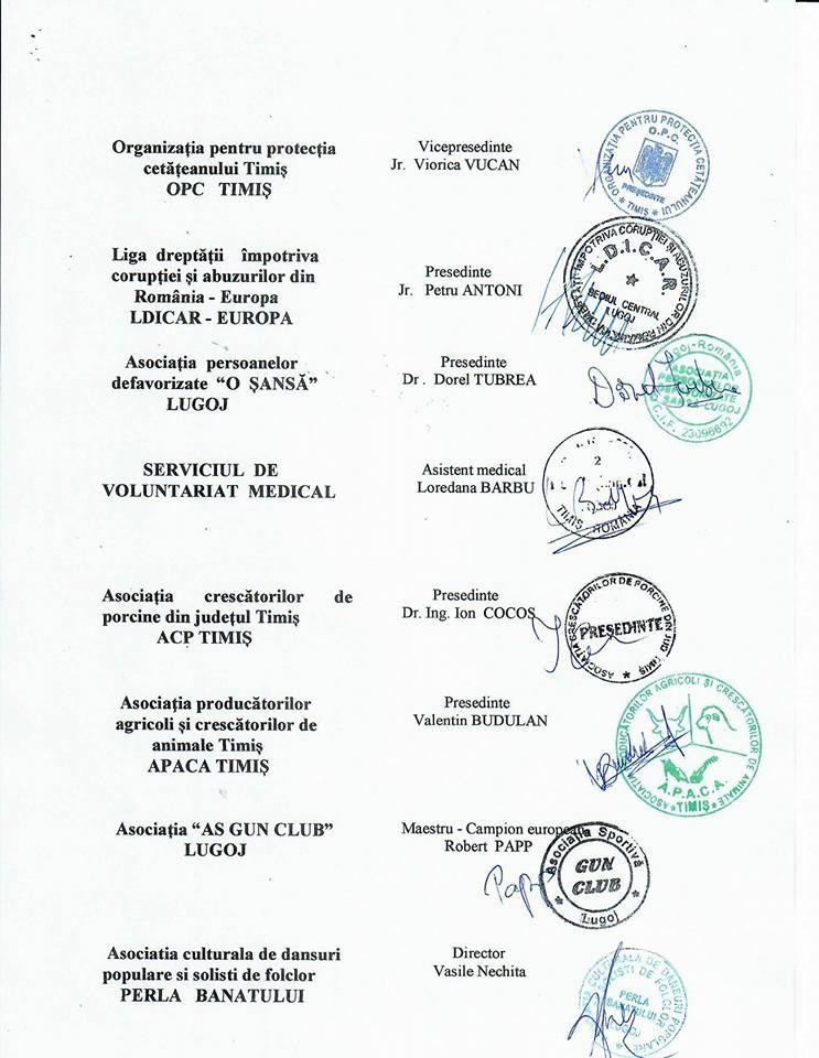 Lugoj Expres Opt ONG-uri i-au adresat o scrisoare deschisă primarului Lugojului scrisoare deschisă organizații neguvernamentale