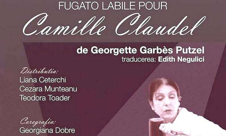 """Lugoj Expres Teatru, la Lugoj: """"Fugato labile pour Camille Claudel"""" Teatrul Municipal """"Traian Grozăvescu"""" Lugoj teatru spectacol Lugoj Fugato labile pour Camille Claudel"""
