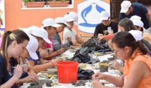 """Lugoj Expres Tabăra Internațională de Ceramică """"Happy Daro"""" - ediția a XI-a tabăra Lugoj happy daro Clubul Copiilor Lugoj ceramică"""