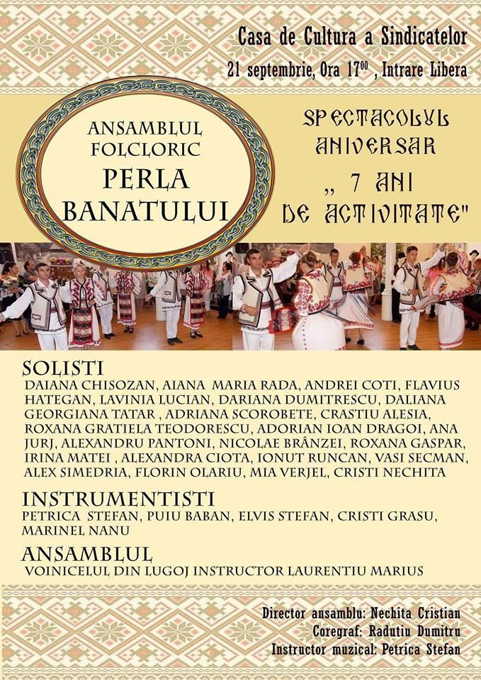 Lugoj Expres Perla Banatului, spectacol folcloric aniversar spectacol aniversar Perla Banatului muzică populară folclor