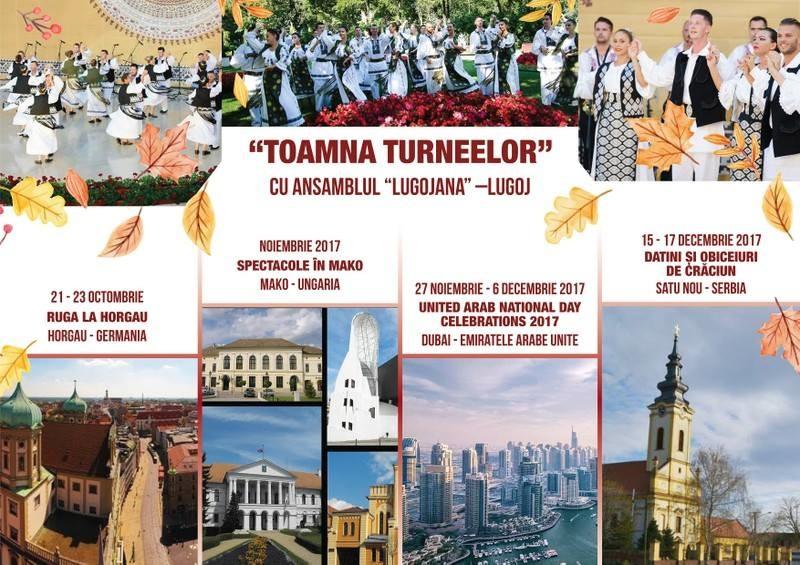 "Lugoj Expres Toamna turneelor, cu Ansamblul Folcloric ""Lugojana"" turnee toamna turneelor spectacole folclorice Lugojana folclor Ansamblul Folcloric Lugojana ansamblu"