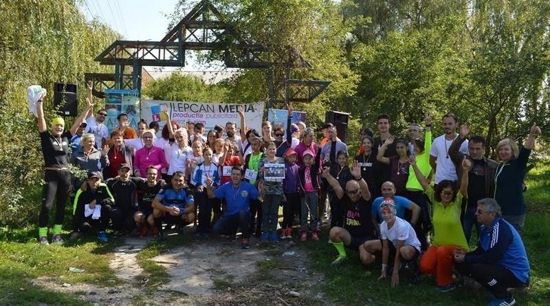 Lugoj Expres Optzeci de lugojeni au... alergat în natură semimaraton natură mișcare eveniment caritabil cros concurs alergare