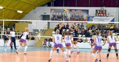 Lugoj Expres Voleibalistele Lugojului, doar un set câștigat cu Știința Bacău volei Știința Bacău Divizia A1 derby bănățean CSM Lugoj Agroland Timișoara