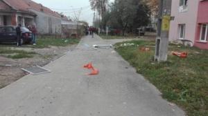 Lugoj Expres explozie bloc Lugoj 7a
