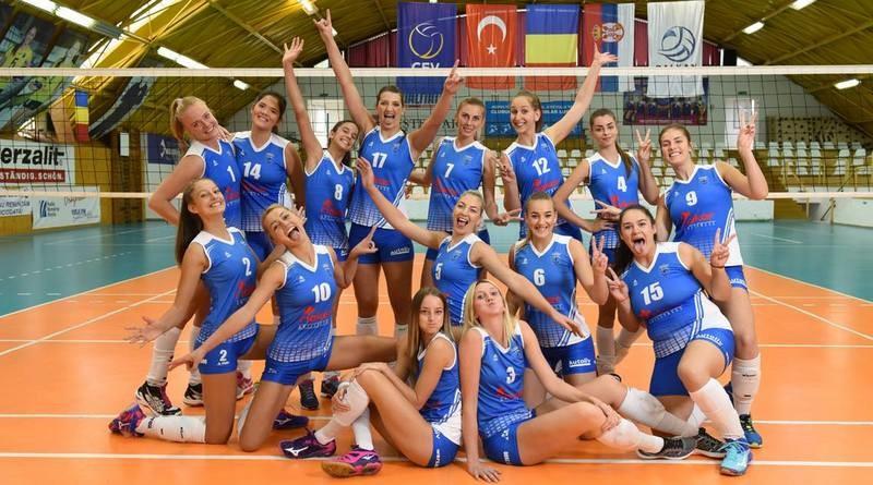 Lugoj Expres CSM Lugoj - locul 6 și calificare în Cupa Balcanică volei Știința Bacău podium final de sezon Divizia A1 Cupa Balcanică CSM Lugoj calificare