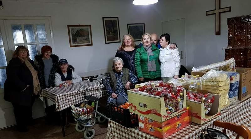 """Lugoj Expres Clubul Lions """"Ana Lugojana"""", alături de vârstnicii Căminului """"Anita Heim"""" Lions Clubul Lions """"Ana Lugojana"""" Centrul social Anita Heim acțiune caritabilă"""
