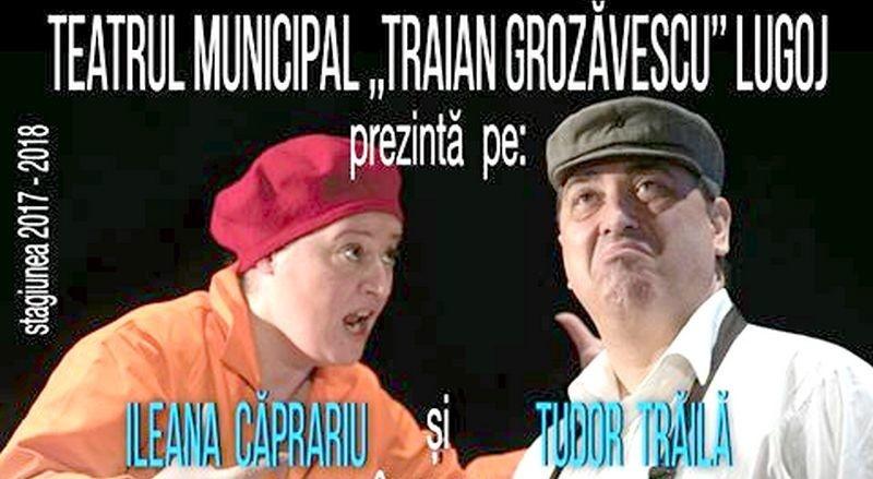 """Lugoj Expres Premieră teatrală: Balul, după William Shakespeare trupă Teatrul Municipal """"Traian Grozăvescu"""" Lugoj teatru spectacol premiera comedie Balul actori"""