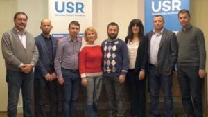 Lugoj Expres Trei lugojeni, în conducerea USR Timiș USR Timiș USR Lugoj USR conducere alegeri