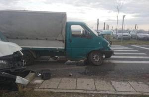 Lugoj Expres Zece persoane implicate într-un accident pe DN 6 microbuz ISU Timiș impact DN 6 autoutilitară accident   Lugoj Expres Zece persoane implicate într-un accident pe DN 6 microbuz ISU Timiș impact DN 6 autoutilitară accident