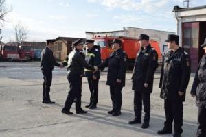 Lugoj Expres Pompierii din Lugoj au un nou șef șef nou Ovidiu Ioan Lefter locțiitor comandant ISU Timiș Detașamentul de Pompieri Lugoj