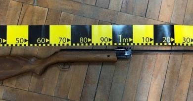 Lugoj Expres Armă cu aer comprimat, deținută ilegal de un bărbat din Margina regimul armelor Polițiști Margina infracțiune Făget dosar penal armă