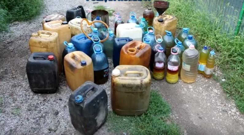 Lugoj Expres Furt de sute de litri de motorină, la Nădrag prejudiciu Nădrag motorină furt dosar penal carburant
