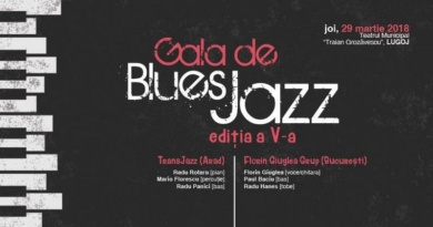 Lugoj Expres O nouă gală de blues și jazz TransJazz jazz gală Florin Giuglea Grup concert blues