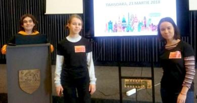 """Lugoj Expres Un nou premiu pentru elevii Colegiului Național """"Iulia Hasdeu"""" premiu Made for Europe Erasmus+ concurs european Colegiul Național """"Iulia Hasdeu"""" Lugoj"""