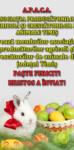 Felicitare Apaca - Asociatia Producatorilor Agricoli Si Crescatorilor De Animale Timis