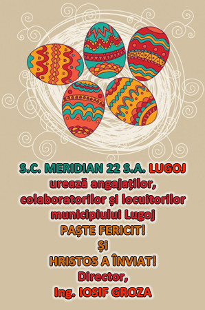 Felicitare Meridian 22 Lugoj
