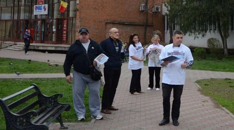 """Lugoj Expres USR Lugoj a început campania """"Fără penali în funcții publice"""" USR Lugoj USR strângere de semnături inițiativă cetățenească fără penali în funcții publice campanie"""
