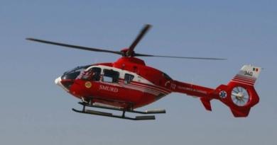 Lugoj Expres Elicopterul SMURD, intervenție de urgență pentru a salva o femeie strivită de un tractor vătămare corporală urgență tractor strivită SMURD rănită grav Pietroasa intervenție femeie rănită elicopter dosar penal accident cumplit