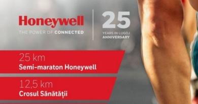 Lugoj Expres Alergare, la Lugoj: Honeywell Race 25 Honeywell Race 25 Honeywell Life Safety România eveniment sportiv cros alergare