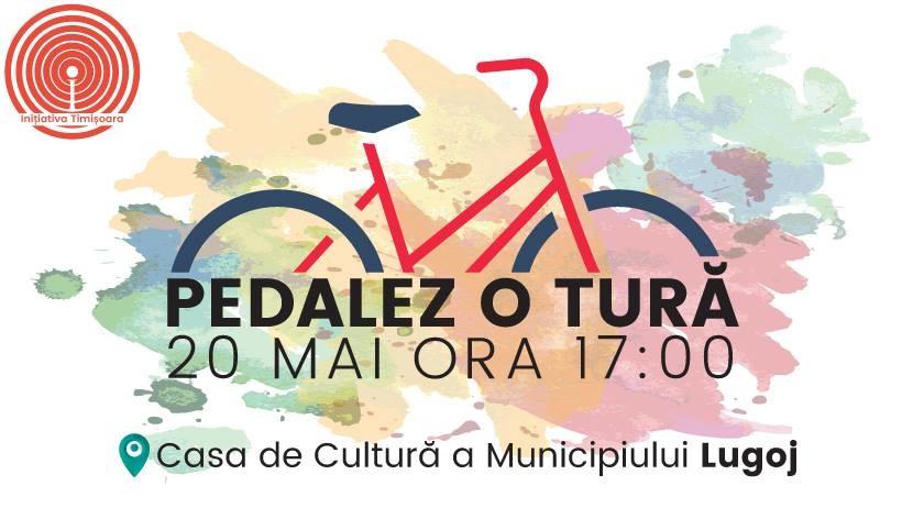 Lugoj Expres Pedalez o tură, un nou eveniment ciclist, la Lugoj pedalez o tură Lugojul pedalează eveniment ciclist cicliști