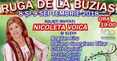 Lugoj Expres Mare sărbătoare, în weekend, la Buziaș stațiune spectacol soliști rugă Nicoleta Voica muzică populară folclor Buziaș