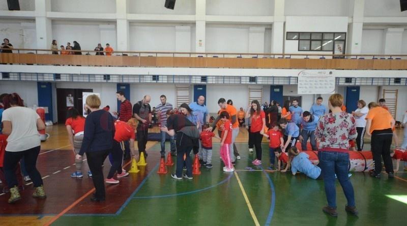 Lugoj Expres Știu că pot! Competiție sportivă destinată copiilor cu dizabilități știu că pot ocrotire eveniment DGASPC Timiș copii cu dizabilități competiție centre