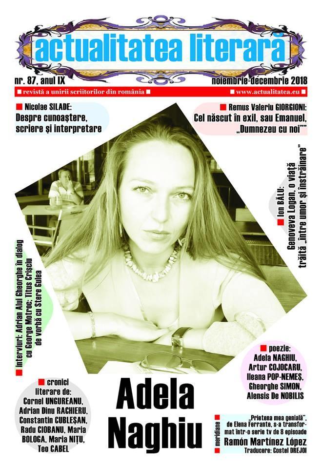Lugoj Expres A apărut numărul 87 al revisteiActualitatea literară scriitori revistă proză poezie poeți librării cultură cronici literare actualitatea literară