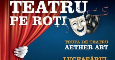 Lugoj Expres Teatru pe roți, la Sudriaș Ziua Culturii Naționale Traian Vuia teatru pe roți teatru la Sudriaș teatru Sudriaș spectacol piesă Luceafărul AlDE Timiș Aether Art