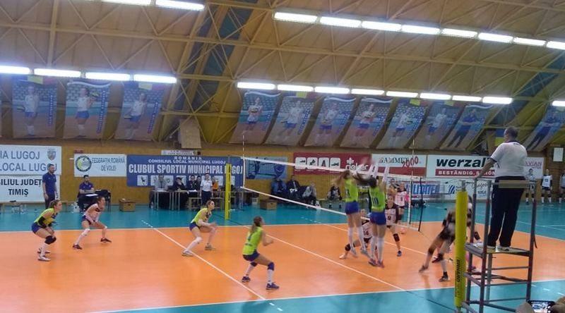 Lugoj Expres CSM Lugoj, start în 2019 cu o victorie... pentru locul cinci voleibaliste volei victorie U NTT Data Cluj Divizia A1 CSM Lugoj
