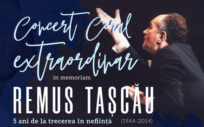 "Lugoj Expres Concert coral extraordinar ""In memoriam Remus Tașcău"" Remus Tașcău invitat in memoriam excelență diplome Corul Ion Vidu Lugoj cor concert extraordinar Aura Twarowska"