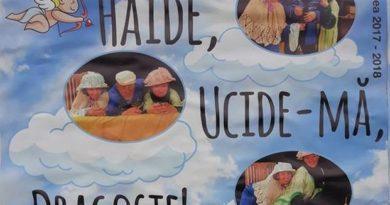 """Lugoj Expres Haide, ucide-mă, dragoste!, la Teatrul din Lugoj trupă Teatrul Municipal """"Traian Grozăvescu"""" Lugoj teatru reprezentație Lugoj Haide ucide-mă dragoste! comedie actori"""