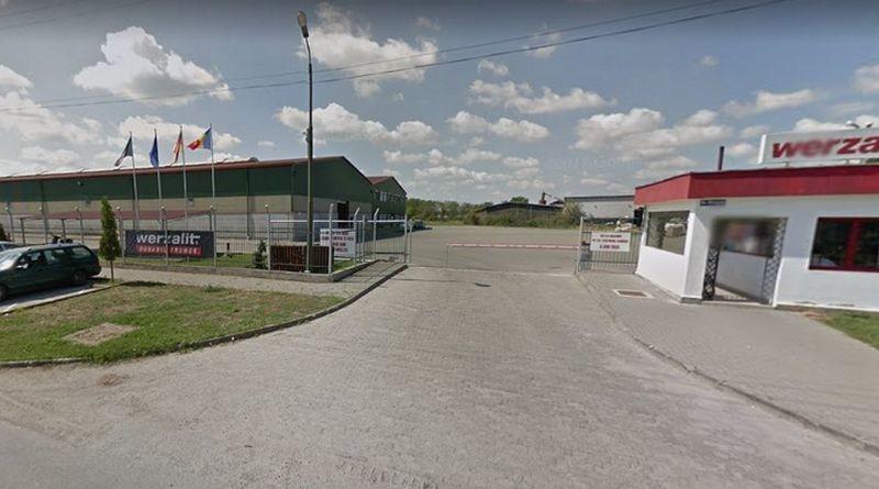 Lugoj Expres Accident de muncă, la o fabrică din Lugoj Werzalit vătămare corporală spital securitate prelucrarea lemnului muncă Lugoj ITM Timiș firmă bărbat rănit accident de muncă