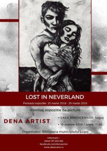 Lugoj Expres Lost in Neverland. Vernisaj la Casa Bredicenilor vernisaj pictura Lugoj Lost in Neverland expoziție Dena Denis Casa Bredicenilor artist