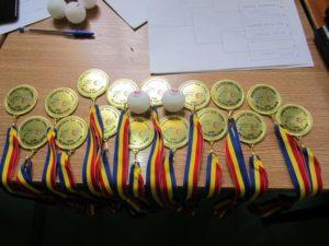 """Lugoj Expres Cupa """"Toți diferiți, toți egali"""" și-a desemnat câștigătorii ediției a XXIII-a Ziua Mondială a Tenisului de masă ziua mondială tenis de masă Cupa toți diferiți toți egali cupa CSHF Maraton'93 Lugoj"""