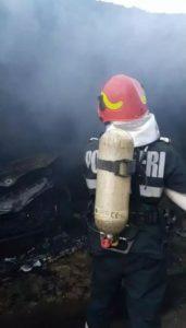 Lugoj Expres incendiu garaj 6