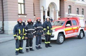 Lugoj Expres Municipalitatea lugojeană a predat Detașamentului de Pompieri autospeciala pentru intervenții în zonele greu accesibile primăria lugoj predare-primire pompieri ISU Timiș dotare Detașamentul de Pompieri Lugoj ceremonial autospecială achiziție